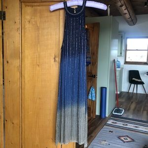Chelsea & Violet beaded ombré dress size small